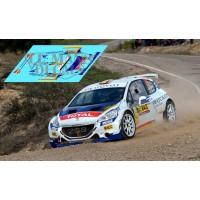 Peugeot 208 R5 - Rally Cataluña Costa Brava 2015 nº79 A