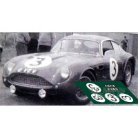 Aston Martin DB4 GT Zagato - Le Mans 1961 nº3