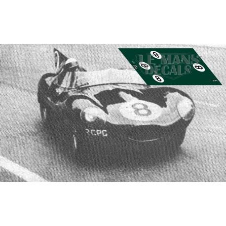Jaguar D Type - Le Mans 1958 nº8