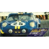 Chevron B12 - Le Mans 1968 nº25
