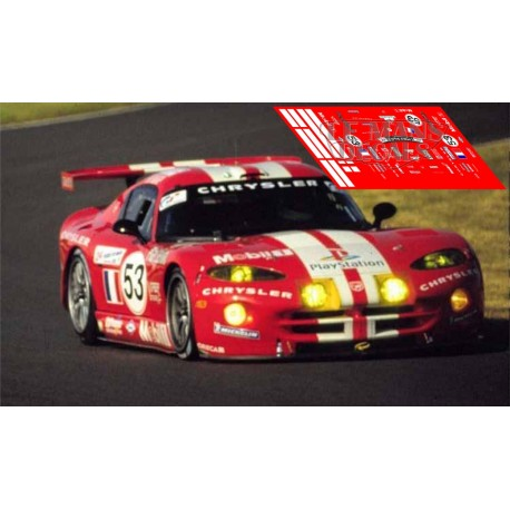Chrysler Viper GTS - Le Mans 2000 nº53