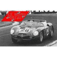 Ferrari 246SP - Le Mans 1962 nº28