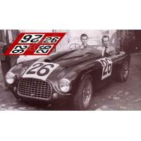 Ferrari 166MM - Le Mans 1950 nº26