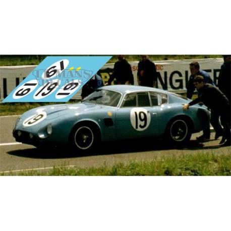 Aston Martin DB4 GT Zagato - Le Mans 1963 nº19