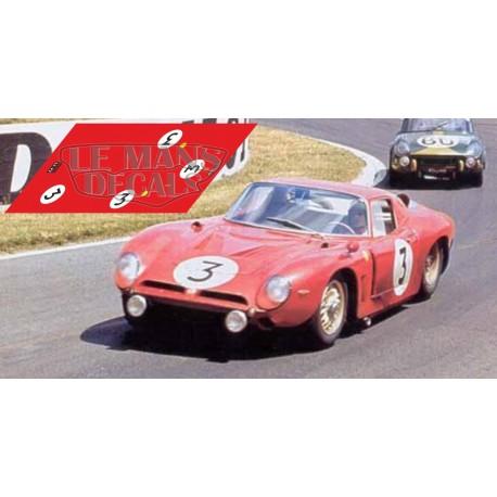 Bizzarrini Iso Grifo A3C - Le Mans 1965 nº3