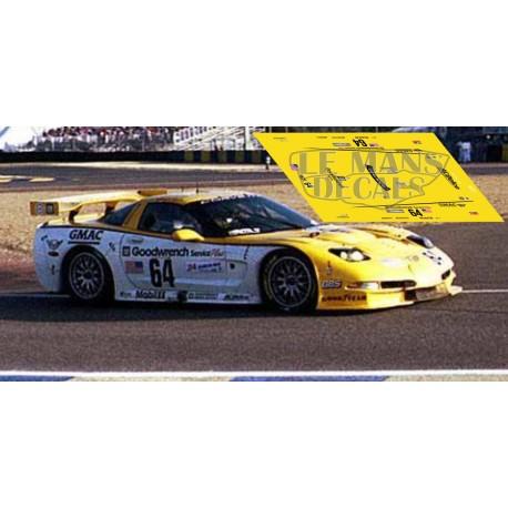 Corvette C5R - Le Mans 2000 nº64