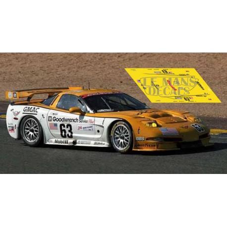 Corvette C5R - Le Mans 2000 nº63