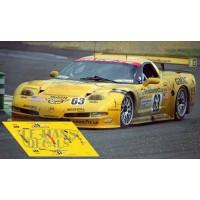 Corvette C5R - Le Mans 2001 nº63