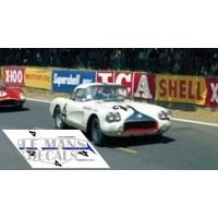 Corvette C1 - Le Mans 1960 nº4
