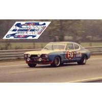Ford Capri RS2600 - Le Mans 1972 nº52