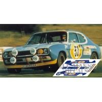 Ford Capri RS2600 - Le Mans 1972 nº53