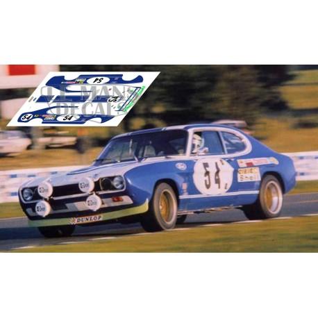 Ford Capri RS2600 - Le Mans 1972 nº54