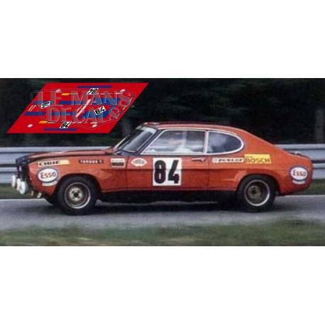 Ford Capri RS2600 - Le Mans 1972 nº84