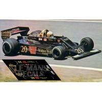 Wolf Ford WR5 - GP Alemania 1978 nº20