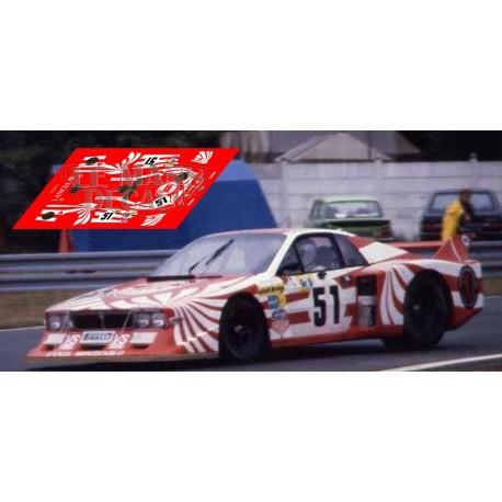Lancia Beta Montecarlo - Le Mans 1980 nº51