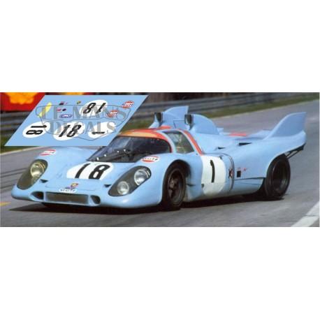 Porsche 917k - Le Mans Test 1971 nº18