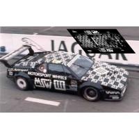BMW M1 - Le Mans 1986 nº111