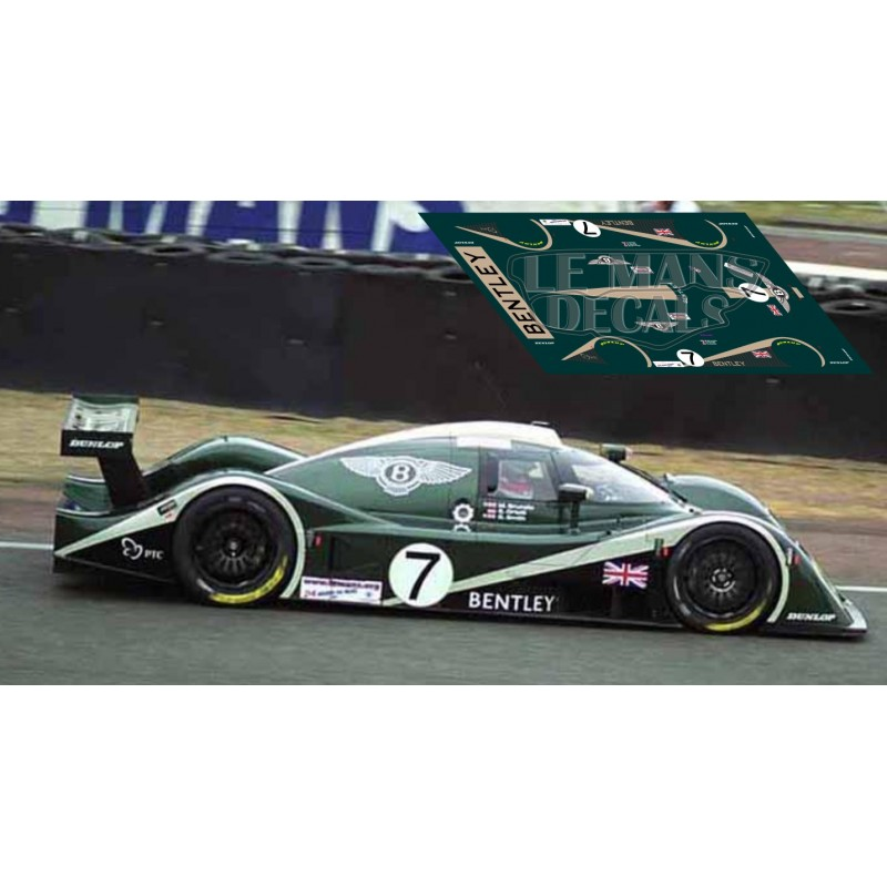 Bentley Mulsanne Lemans: Le Mans 2001 Nº7