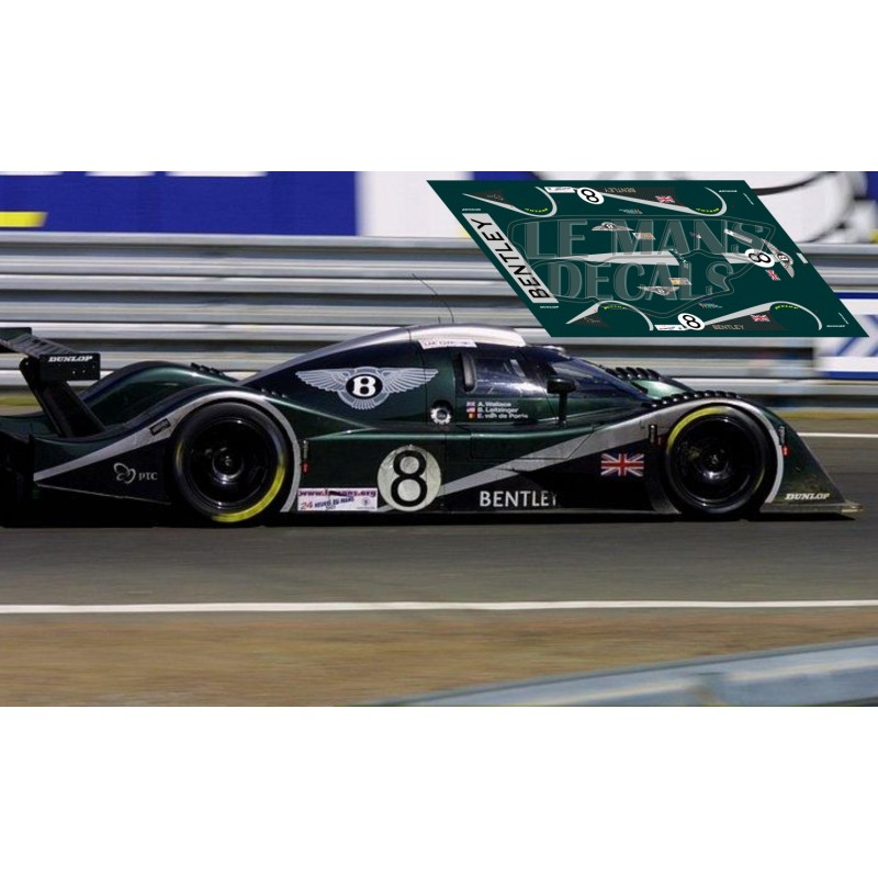 Bentley Mulsanne Lemans: Le Mans 2002 Nº8