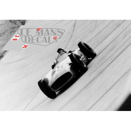 Mercedes W196 - GP Italia 1955 nº20