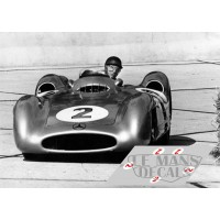 Mercedes W196 Streamliner - GP Avus 1954 nº2