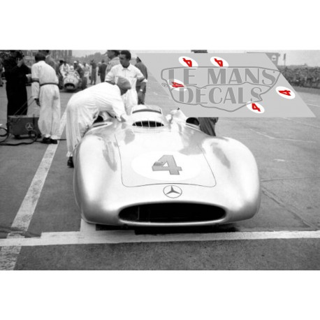 Mercedes W196 Streamliner - GP Avus 1954 nº4