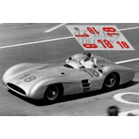 Mercedes W196 Streamliner - GP Francia 1954 nº18