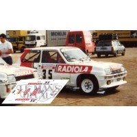 Renault 5 Turbo - Tour Corse 1986 nº35