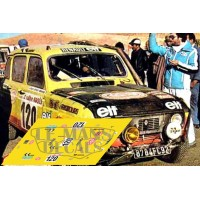 Renault 4L - Rally Dakar 1980 nº120