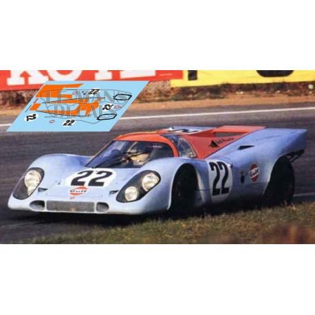 Porsche 917 k - Le Mans 1970 nº22