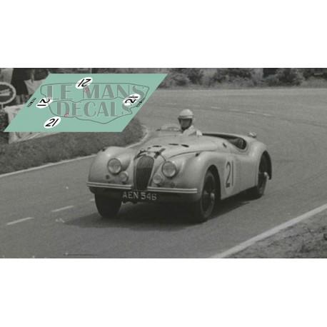 Jaguar XK120S - Le Mans 1951 nº21