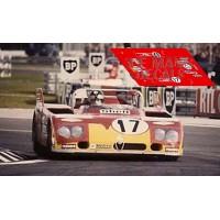 Alfa Romeo T33 TT3  - Le Mans 1972 nº17