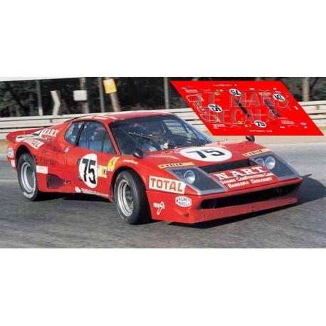 Ferrari 365 GT/4 BB - Le Mans 1977 nº75