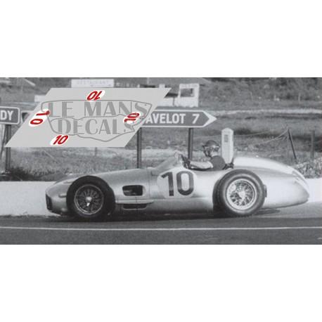 Mercedes W196 - GP Bélgica 1955 nº10