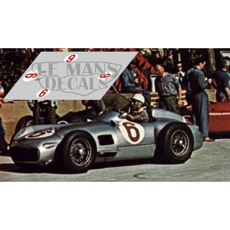 Mercedes W196 - GP Monaco 1955 nº6
