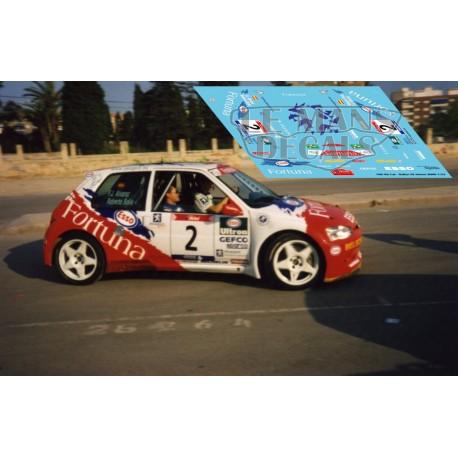 Peugeot 106 Kit Car  - Rallye Mediterráneo 2000 nº2
