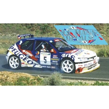 Peugeot 306 Maxi - Rallye Canarias El Corte Inglés 1998 nº2