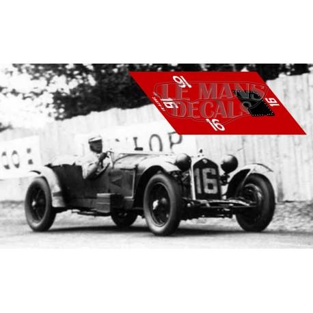 Alfa Romeo 8C 2300 LM - Le Mans nº16