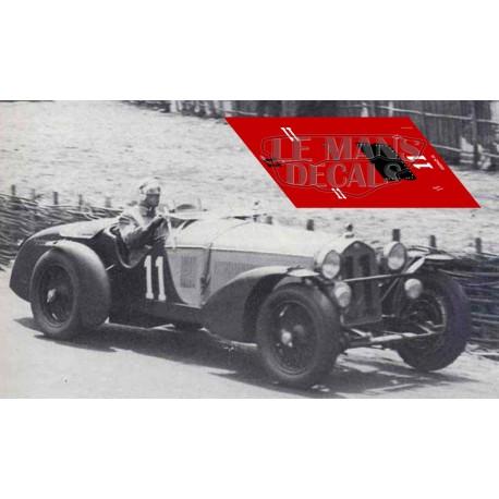 Alfa Romeo 8C 2300 Monza - Le Mans 1933 nº11