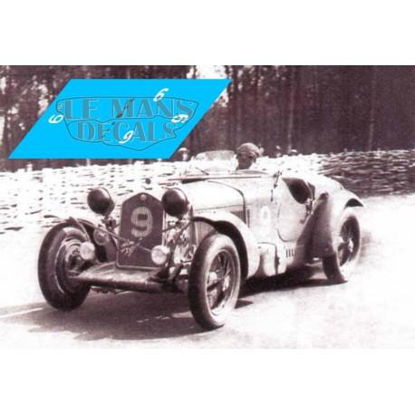 Alfa Romeo 8C 2300 LM - Le Mans 1934 nº9