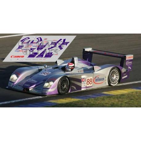 Audi R8 - Le Mans 2004 nº88