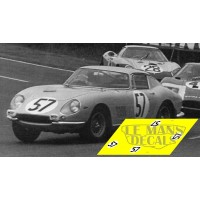 Ferrari 275 GTB - Le Mans 1966 nº57