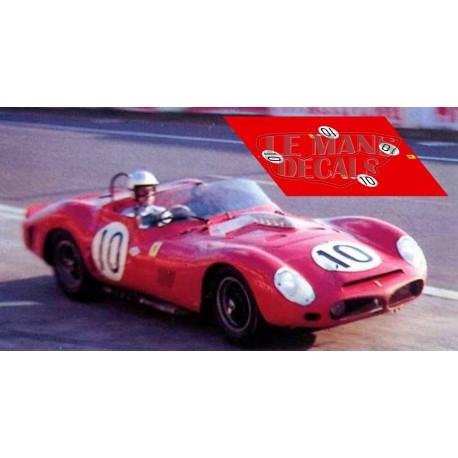 Ferrari 330 TRI - Le Mans 1963 nº10