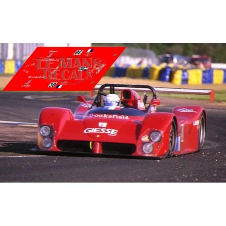 Ferrari 333 SP - Le Mans Test 1999 nº30
