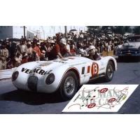 Jaguar C Type  - Carrera Panamericana 1954 nº13
