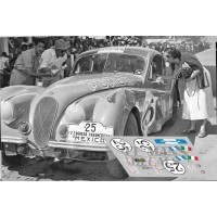 Jaguar XK120 - Carrera Panamericna 1953 nº25