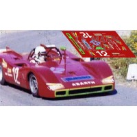 Fiat Abarth 2000 S - Targa Florio 1971 nº12