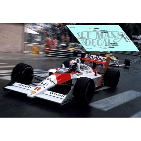 McLaren MP4/4 - GP Monaco 1988 nº11