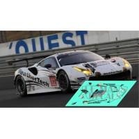 Ferrari 488 GTE - Le Mans 2018 nº62