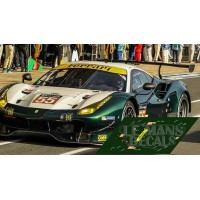 Ferrari 488 GTE  - Le Mans 2017 nº55